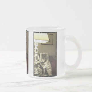 Wine Glass Lucy Frosted Glass Coffee Mug