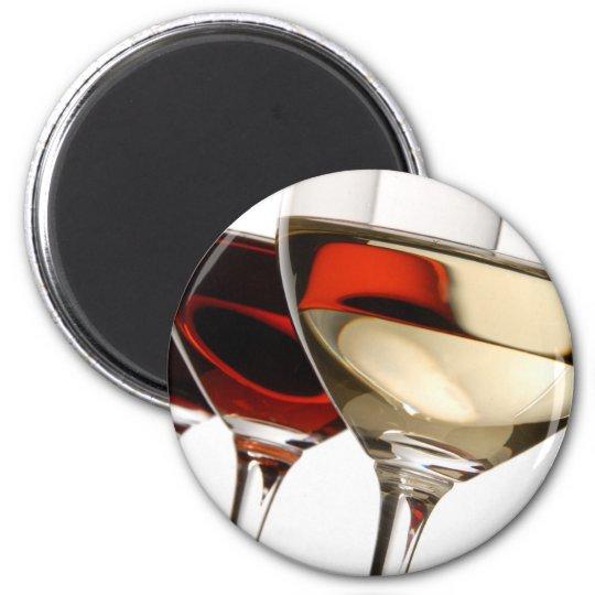 Wine Glass Magnet