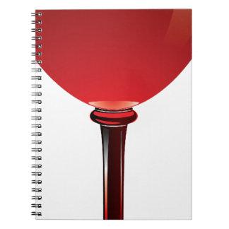 Wine Glass Notebook