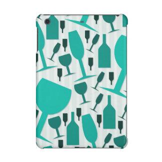 Wine glass pattern iPad mini retina cover