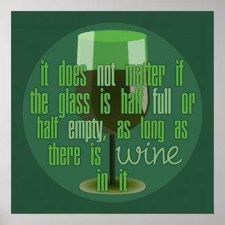Wine Glass poster