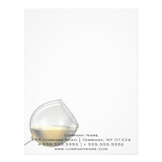 Wine Glass Professional Stationery Letterhead