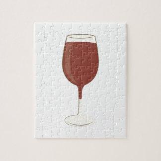 Wine Glass Jigsaw Puzzle