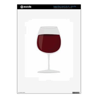 Wine Glass iPad 3 Decals