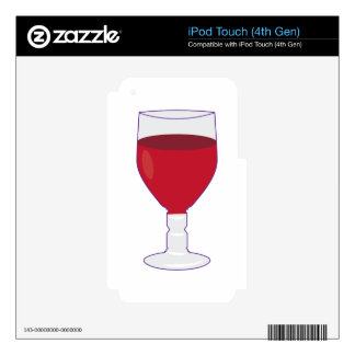 Wine Glass Skin For iPod Touch 4G