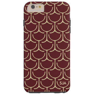 Wine Glasses Abstract Design iPhone case