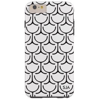 Wine Glasses Abstract Design iPhone case Tough iPhone 6 Plus Case