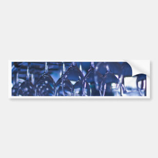 Wine Glasses Bumper Sticker