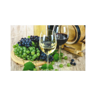 Wine Glasses Canvas