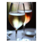 Wine Glasses Post Card