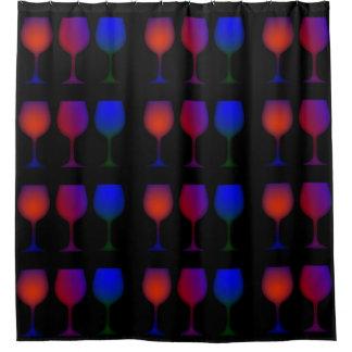 Burgundy Wine Shower Curtains | Zazzle