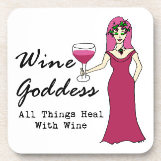 Wine Goddess All Things Heal With Wine Coasters