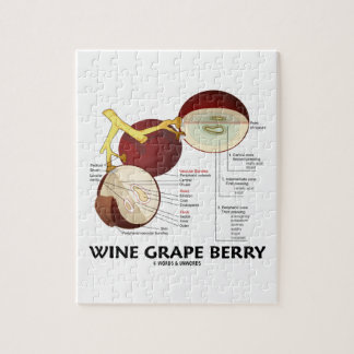 Wine Grape Berry (Botanical Anatomy) Jigsaw Puzzles
