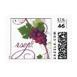Wine Grape RSVP Stamp