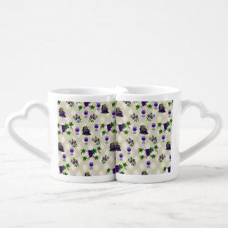 Wine, Grapes, and Jelly Coffee Mug Set