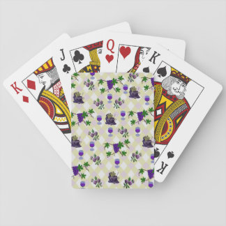 Wine, Grapes, and Jelly Card Decks