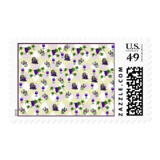 Wine, Grapes, and Jelly Postage Stamps