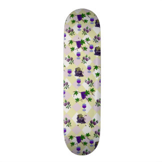 Wine, Grapes, and Jelly Skate Deck