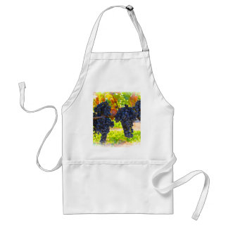 Wine grapes aprons
