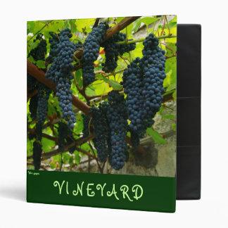 Wine grapes binder
