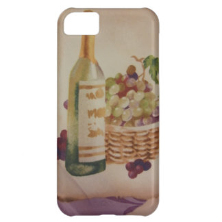 Wine & Grapes Cover For iPhone 5C