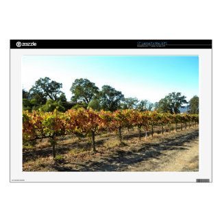 Wine Grapes in Mendocino County, California Laptop Decals