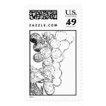 Wine Grapes Postage Stamps