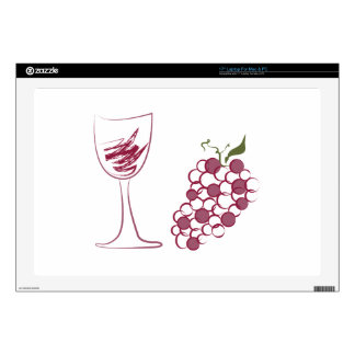 Wine Grapes Skin For Laptop