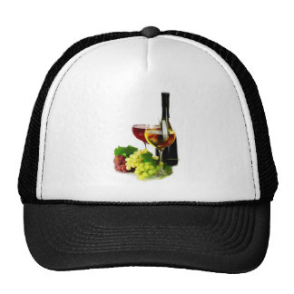 Wine Grapes Trucker Hat