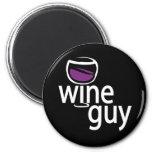 Wine Guy Fridge Magnets