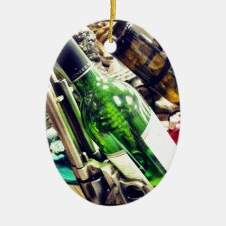 Wine Holders Ceramic Ornament