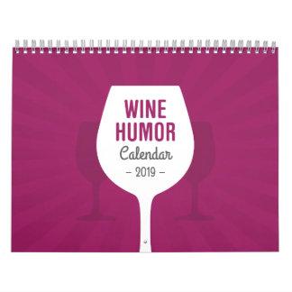 Wine Humor Calendar