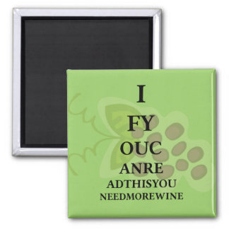 Wine Humour Personalized Magnet