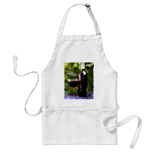 Wine in the Sunset Adult Apron