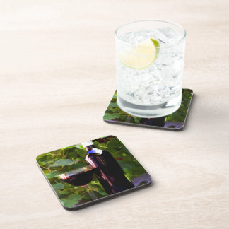 Wine in the Sunset Beverage Coaster