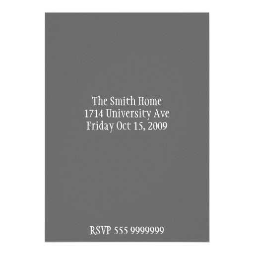 Wine invitation card (back side)