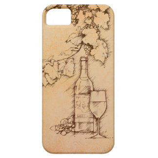 Wine iPhone SE/5/5s Case