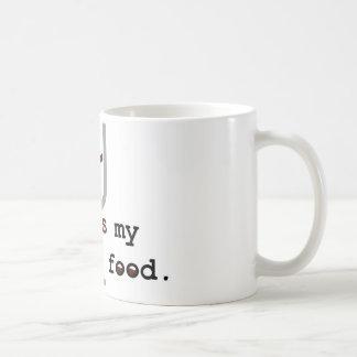Wine is my comfort food coffee mugs