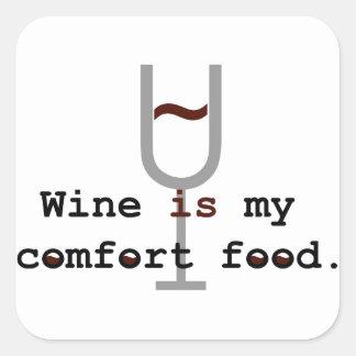Wine is my comfort food sticker