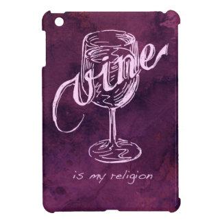 Wine is my religion! iPad mini cover
