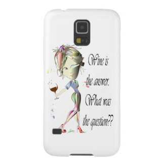 Wine is the Answer - what was the question?? Galaxy S5 Cover