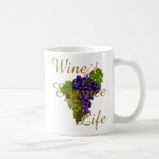 Wine is the Essence of Life Mug