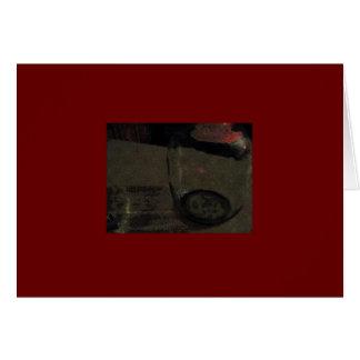 Wine Jug Red Notecard