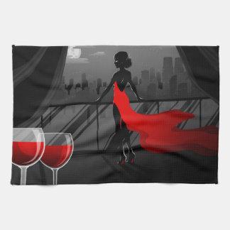 _wine kitchen towel