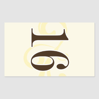 Wine Label Table Number Stickers 16