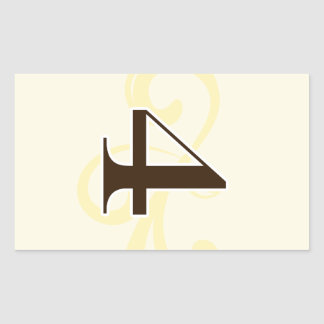Wine Label Table Number Stickers 4