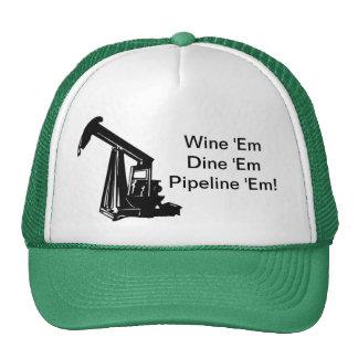 Wine los cenan los canalizan gorra