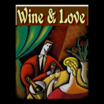 Wine & Love posters