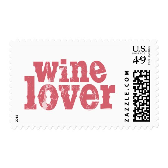 Wine Lover 1a Postage