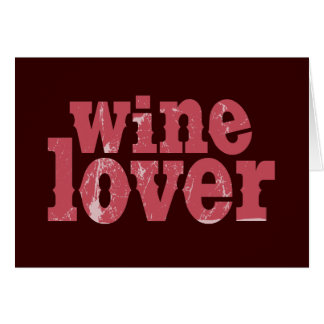 Wine Lover Card